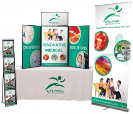 Table top trade show packages