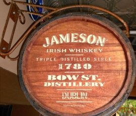 Jameson Barrel Display