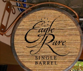 Eagle Rare Barrel Display